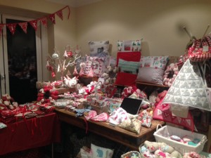 Sew Stitchy stall at Coffee Morning