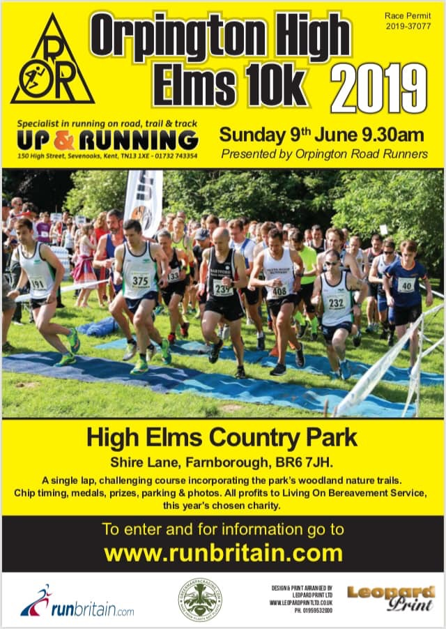 High Elms Race 2019